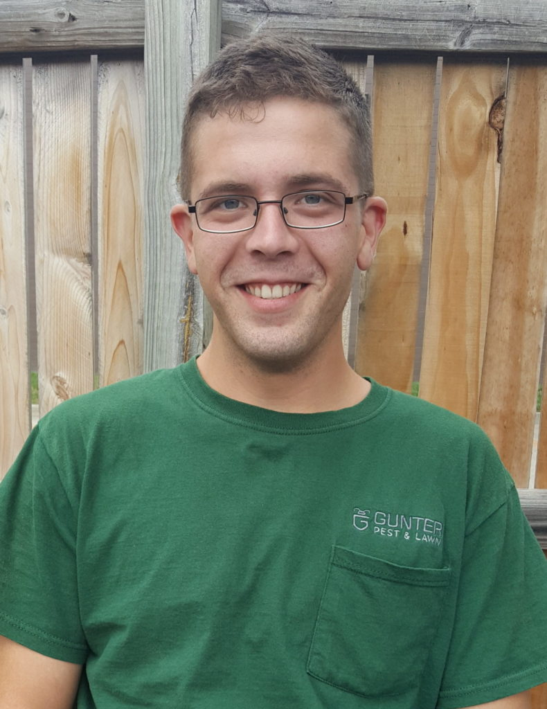 Corey is one of our newest employees. He has such a great attitude and is always receiving customer requests! Fun fact: he is also the step-son of one of one of our veteran pest control experts, Steve Hicks!