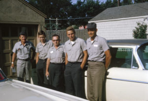 The original Gunter Team. Yes, we were good at Pest Control back then too.
