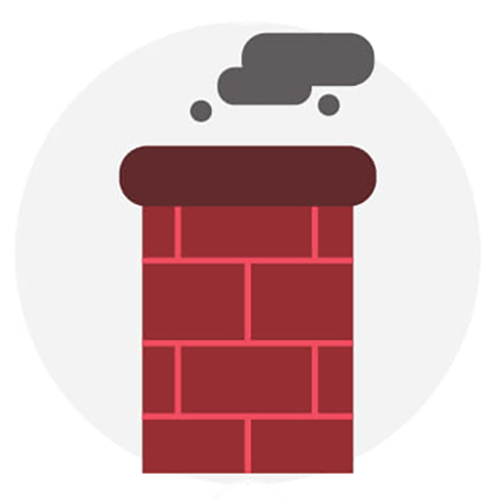 Close off your chimney to keep pests and rodents out.