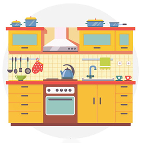 "One tip to keep pests away in the summer is to ""Make That Kitchen Sparkle""."