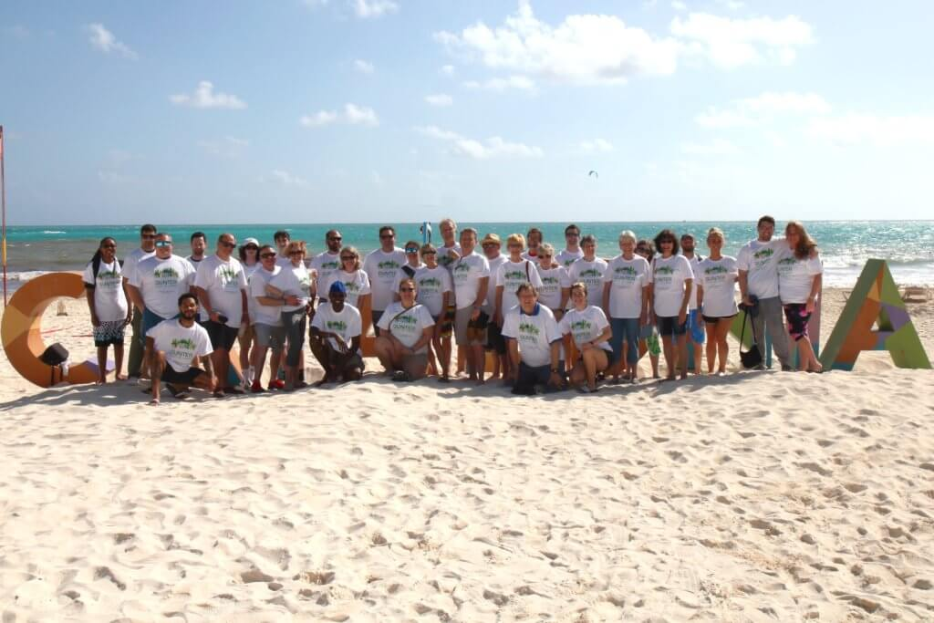 When Gunter Pest & Lawn took their team to Mexico for the companies 70th anniversary.