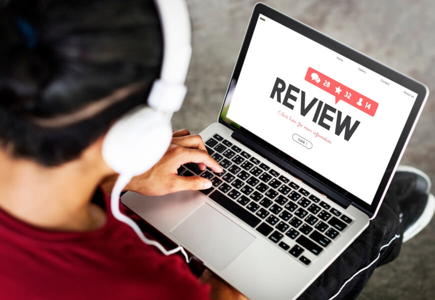Research the reviews of the pest control company you are checking out.