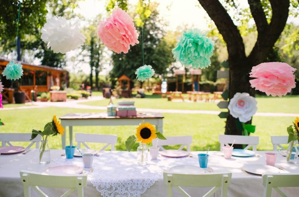 Outside DIY projects can be for an event or for fun