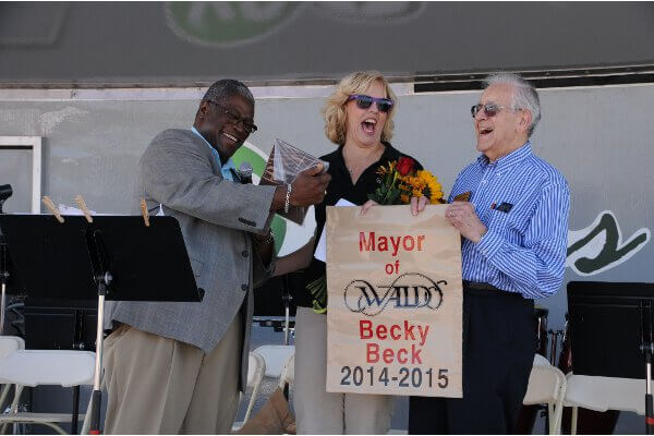 "Norman Besheer named honorary ""Mayor of Waldo""."