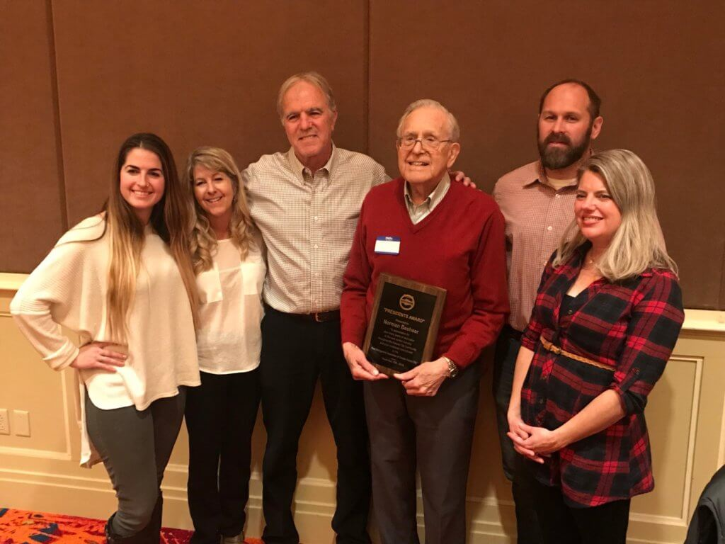 Norman inducted into the NPMA (National Pest Management Association) Hall of Fame.