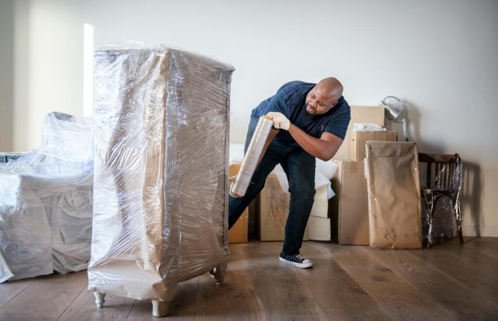 Make Sure Your Furniture Is Wrapped